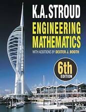 Engineering Mathematics, Good Condition Book, K.A. Stroud, Dexter J. Booth, ISBN