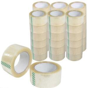 Klebeband 12 Rollen Packband Paketband Paketklebeband 66m Transparent
