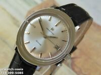 1960's Vintage HAMILTON  AUTOMATIC, Stunning Silver Dial, Serviced & Warranty