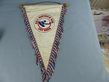 FANION PENNANT ICE HOCKEY GLACE H.Y.S VERONICA 538 DEN HAAG HOLLAND WIMPEL