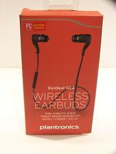 Plantronics BackBeat Go 2 88600-60 Bluetooth Stereo Wireless Headset Earbuds BLK