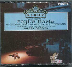 3CD Box Kirov Pique Dame Gergiev (Philips) 1993