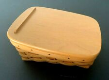 Longaberger 2000 Classic Note Pal Basket with Lid