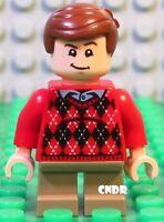 NEW LEGO Suitcase Figure Accessory Briefcase Reddish Brown x3-7894 75968