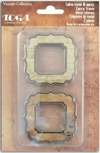 Epoxy Frame Vintage Scrapbook Deco Scrapbooking Art Crafts Card Making