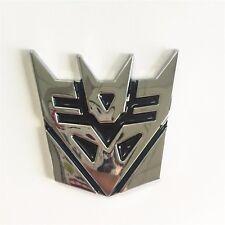 1PC Medium 3D  Decepticon Transformers Emblem Badge Graphic Decal Car Sticker a