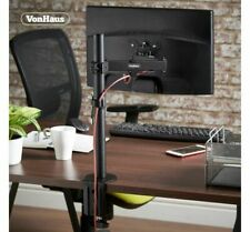 "VonHaus Monitor Mount - Single Arm Desk Clamp Stand for 13-32"" VESA Screens"
