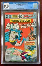 BRAVE AND THE BOLD #127 CGC 9.0 WP NM (DC 1976) BATMAN & WILDCAT 🔑
