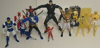 The Mighty Morphin Power Rangers Lot Of 10 Action Figures