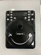 Bluetooth FM Portable PA Radio Speaker Rechargeable USB SD AUX Mic Antenna Black