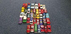 Massive Job Lot Of Old Toy Cars Matchbox Dinky Corgi Hot Wheels Bundle