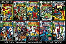 THE SPECTACULAR SPIDERMAN COLLECTION OF 320 DIGITAL COMICS