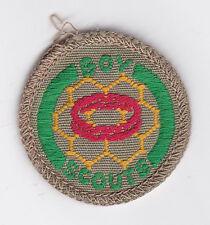 1960's AUSTRALIA / AUSTRALIAN SCOUTS - BOY SCOUT SMALLHOLDER Proficiency Badge