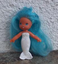 Vintage Kenner 1979 Sea Wees Mermaid Doll Camille Blue Hair White Body C.P.G