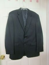 Men's Lauren - Ralph Lauren Navy Pinstripe  Blazer. 2 Button. Size 42 L. Wool.
