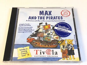 MAX And The Pirates Educational Software Game Tivola CD Rom Win 95 98 XP Mac