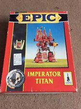 OOP Citadel / Warhammer 40k Epic IMPERATOR TITAN BOX ONLY ,NO MODEL.