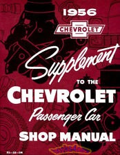 SHOP MANUAL CHEVROLET SERVICE REPAIR 1956 BOOK FACTORY WORKSHOP GUIDE 56 CHEVY