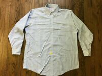 Brooks Brothers Mens Long Sleeve Button Front Dress Shirt Size 16.5 33
