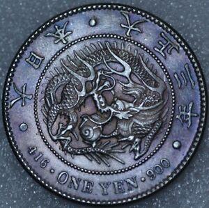 Japan Yen Yr.3 1914 Yoshihito Y#38 (C+588)