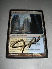 MTG Magic Jung Park Shadow Signed Artist Proof Hallowed Fountain x1 RtR LP