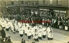 More details for real photo postcard funeral of the late bishop of newcastle 1907, northumberland