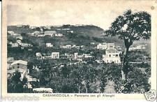 cm 132 1934 CASAMICCIOLA ISCHIA (Napoli) Panorame con gli Alberghi - viagg - FP