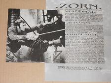 """ZORN / ZELOT - Split 7"""" EP   german Screamo Emo"""