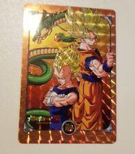carte dragon Ball z hors serie spécial Goku & Vegeta
