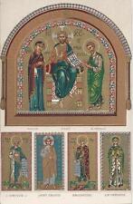 Postcard Italy Venice Basilica di S. Marco in Venezia Mosaic Main Portal Jesus
