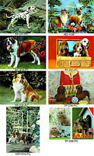 Dog Postcard 3D Lenticular Cute  Collection - 8 Vintage Puppy Cards, #8-DOG1-PC#