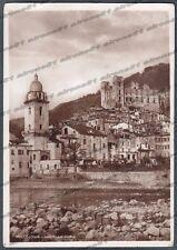 IMPERIA DOLCEACQUA 03 CASTELLO Cartolina FOTOGRAFICA viaggiata 1940