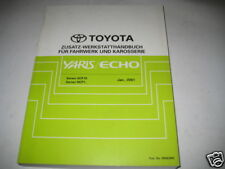 Workshop Manual Toyota Yaris/Echo Body Chassis, Stand 01/2001