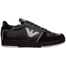 Emporio Armani EA7 sneakers men X8X073XK176A120 BLACK / WHITE Black leather
