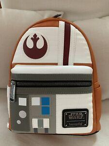 Loungefly Star Wars Luke Skywalker Rebel Cosplay Mini Backpack 707 Exclusive