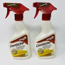 Magic Countertop Cleaner 14 oz Trigger Spray Bottle Stay Clean Lot Of 2
