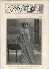 1902 Miss Constance Collier en la ciudad eterna