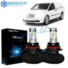 For Dodge Ram 1500 2500 3500 Van 1999-2003 High and Low Beam LED Headlight Bulbs