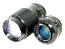 Pentax SP TRAVENAR obiettivo Lens Set 1:2 .8 F = 135mm & 1:2 .8 F = 35mm con imballo originale