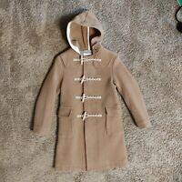 Fidelity Wool Duffel Coat/S/TAN