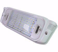 12 Volt White Exterior Motion RV LED Porch Light, RV Security Motion Porch 650LM