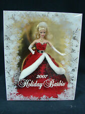 Holiday Barbie 2007  Barbie Collector