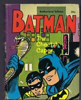 Batman Robin Cheetah Caper ORIGINAL Vintage 1969 Whitman Big Little Book 31