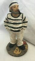 MayRich Co Miniature Nautical Sailor with Pipe 5in Handcrafted Collectible