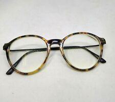 088d21b61c vintage keyhole tortoise shell round glasses prescription lens medium Italy  Depp