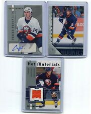 05-06  CHRIS CAMPOLI  3 CARDS ROOKIE LOT , ROOKIE AUTO + JERSEY + YOUNG GUNS