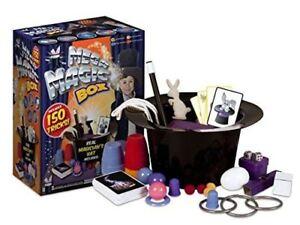 Kids Mega Magic Box 150 Tricks First Magician Hat Rabbit Trick Perfom Toy Set