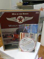 New SPECIAL BRUSHED METAL EDITION Wings Of TEXACO LOCKHEED SIRIUS 8A -18th