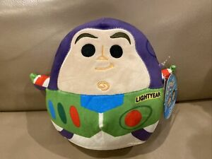 "Squishmallow Buzz Toy Story  8"" Disney Collectable Stuffed NWT"