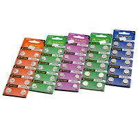 AG0 AG1 AG2 AG3 AG4 AG5 AG6 AG7 AG8-AG13 Alkaline Watch Batteries Coin Cells 10x